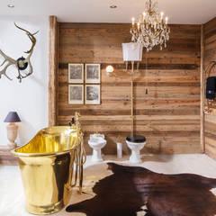 Chalet Badezimmer:  Badezimmer von Traditional Bathrooms GmbH