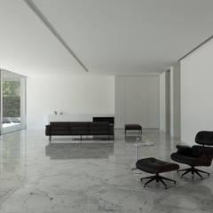 Casa de Aluminio: Comedores de estilo  de FRAN SILVESTRE ARQUITECTOS