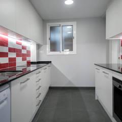 Projekty,  Kuchnia na wymiar zaprojektowane przez Grupo Inventia