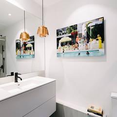 Baño invitados: Baños de estilo  de nimú equipo de diseño