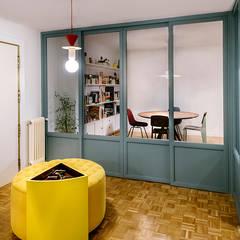Puertas corredizas de estilo  por nimú equipo de diseño