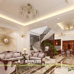 Thiết kế nội thất phòng khách :  Phòng khách by UK DESIGN STUDIO - KIẾN TRÚC UK