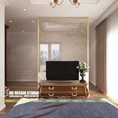 UK DESIGN STUDIO - KIẾN TRÚC UK의  작은 침실