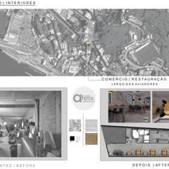 #1 Espaço de Restauração : Bares e clubes  por a.felixarquitectura
