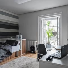 Amor a primera vista: Dormitorios infantiles de estilo  de mara pardo estudio