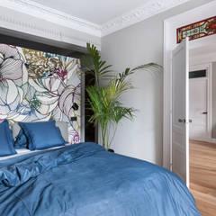 Amor a primera vista: Dormitorios de estilo  de mara pardo estudio