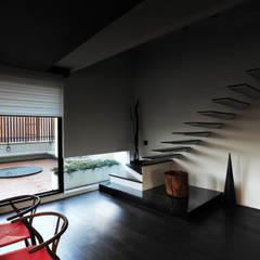 黃耀德建築師事務所  Adermark Design Studio:  tarz Merdivenler
