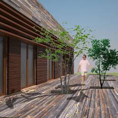 Passive house by ARQUITECTURA Y CONSTRUCCIÓN VERDE
