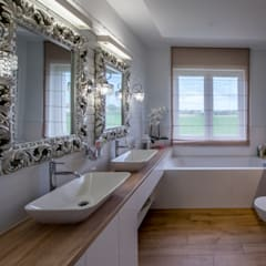 Łazienka: styl , w kategorii Łazienka zaprojektowany przez ememstudio