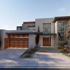Casas de estilo  por DAMAJO Grupo Inmobiliario