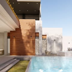 Garden Pool by DAMAJO Grupo Inmobiliario,