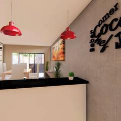 panoramico: Cocinas de estilo  por GóMEZ arquitectos
