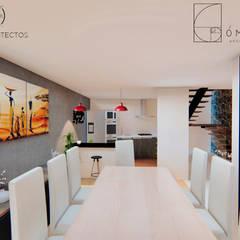 Comedores de estilo  por GóMEZ arquitectos