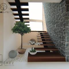 Stairs by GóMEZ arquitectos, Rustic