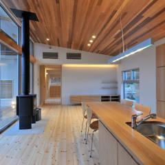 下永野の家: 小野建築設計室が手掛けたキッチンです。