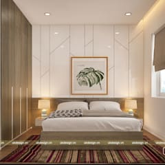 Small bedroom by UK DESIGN STUDIO - KIẾN TRÚC UK