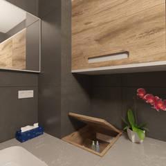 Dem Dizayn – Beylikdüzü Home ( Tasarım + Uygulama ):  tarz Banyo