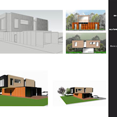 صالة مناسبات تنفيذ MOGRAPH INTERHIA ARCHITECTURE CONTAINERS,