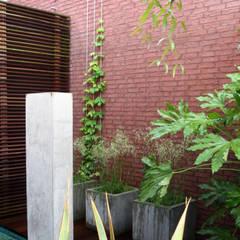 Patio garden:  Garden by Andredw van Egmond  |  designing garden and landscape