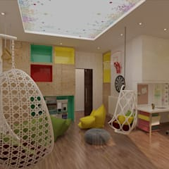 Ms. Safa'a Elayyan Villa:  Teen bedroom by dal design office