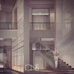 Villa Interior Design – Entrance Lobby and Foyer Design Ideas :  Corridor & hallway by IONS DESIGN
