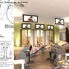 Fitness 2 - Fortgeschrittene:  Hotels von GID│GOLDMANN - INTERIOR - DESIGN