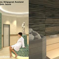 """Verteiler """"4"""" und Russische Sauna:  Hotels von GID│GOLDMANN - INTERIOR - DESIGN"""