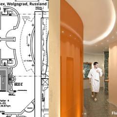 """Flur (Verteiler """"3""""):  Hotels von GID│GOLDMANN - INTERIOR - DESIGN"""