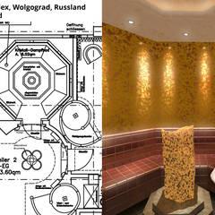 Kristall-Dampfbad:  Hotels von GID│GOLDMANN - INTERIOR - DESIGN
