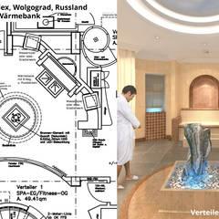 """Verteiler """"3"""" mit Wärmebank:  Hotels von GID│GOLDMANN - INTERIOR - DESIGN"""