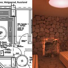 Soft-Sauna:  Hotels von GID│GOLDMANN - INTERIOR - DESIGN