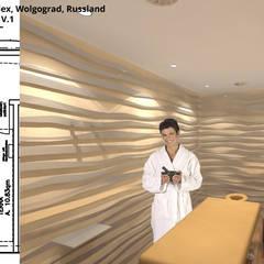Massage 3 - Terra V.1:  Bürogebäude von GID│GOLDMANN - INTERIOR - DESIGN