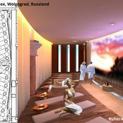 """Ruheraum """"Raum der Stille"""":  Hotels von GID│GOLDMANN - INTERIOR - DESIGN"""