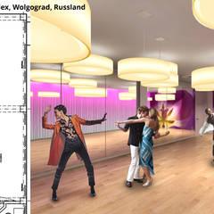 Tanz-Saal 1:  Hotels von GID│GOLDMANN - INTERIOR - DESIGN
