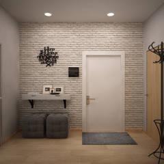 الممر والمدخل تنفيذ дизайн-бюро ARTTUNDRA