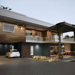 Condominios de estilo  por Gelker Ribeiro Arquitetura | Arquiteto Rio de Janeiro