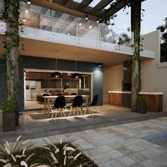 Cocinas de estilo  por Gelker Ribeiro Arquitetura | Arquiteto Rio de Janeiro,