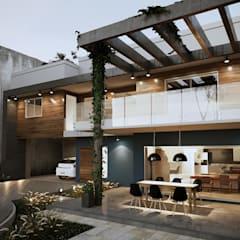Projeto Casa DF |(Cafundá) Taquara RJ: Garagens e edículas  por Gelker Ribeiro Arquitetura | Arquiteto Rio de Janeiro