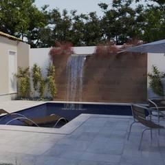 Buitenzwembad door Gelker Ribeiro Arquitetura | Arquiteto Rio de Janeiro