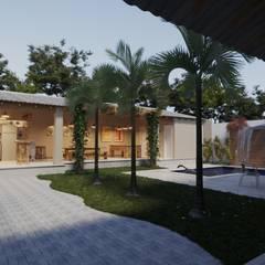 Gelker Ribeiro Arquiteturaが手掛けたアプローチ