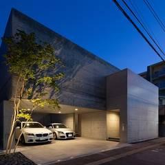 外観: e do design 一級建築士事務所が手掛けた一戸建て住宅です。