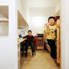 Weave: e do design 一級建築士事務所が手掛けた男の子部屋です。
