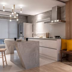 湜湜空間設計의  주방 설비