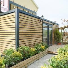 Log cabin by MOVİ evleri, Country