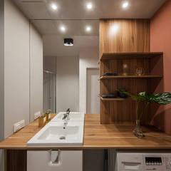 حمام تنفيذ KODO projekty i realizacje wnętrz