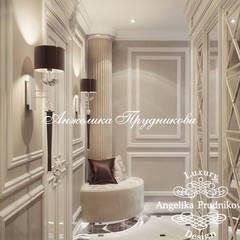 Дизайн квартиры в стиле современная классика в Зеленограде: Коридор и прихожая в . Автор – Дизайн-студия элитных интерьеров Анжелики Прудниковой