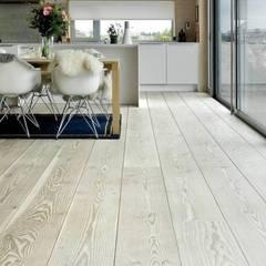 Ash engineered wood flooring :  Floors by Unique Bespoke Wood