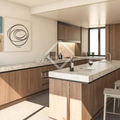 :  مطبخ ذو قطع مدمجة تنفيذ Lucas Fox International Properties