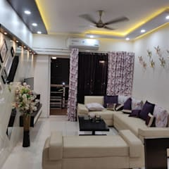 Salas / recibidores de estilo  por Design Kreations