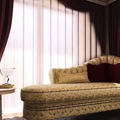 ANTE MİMARLIK  – Semran G. Villa:  tarz Yatak Odası